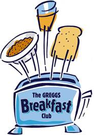 Greggs Breakfast Club